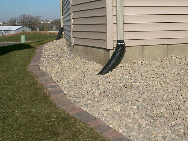 Surface Drainage Correction Drain Tile Rain Gardens