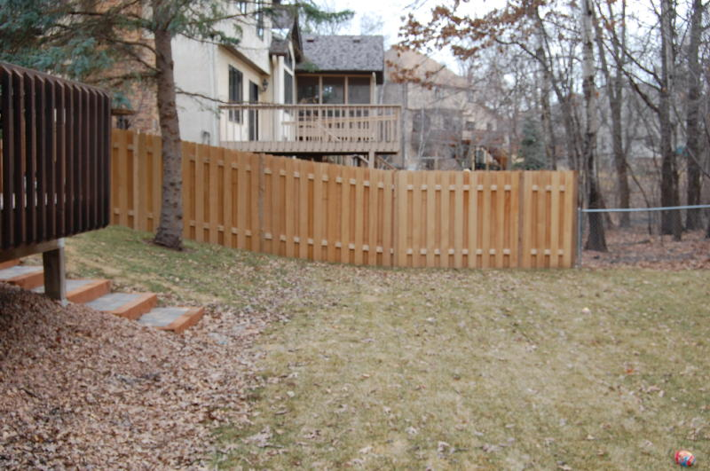 How To Build A Wood Privacy Fence On A Slope