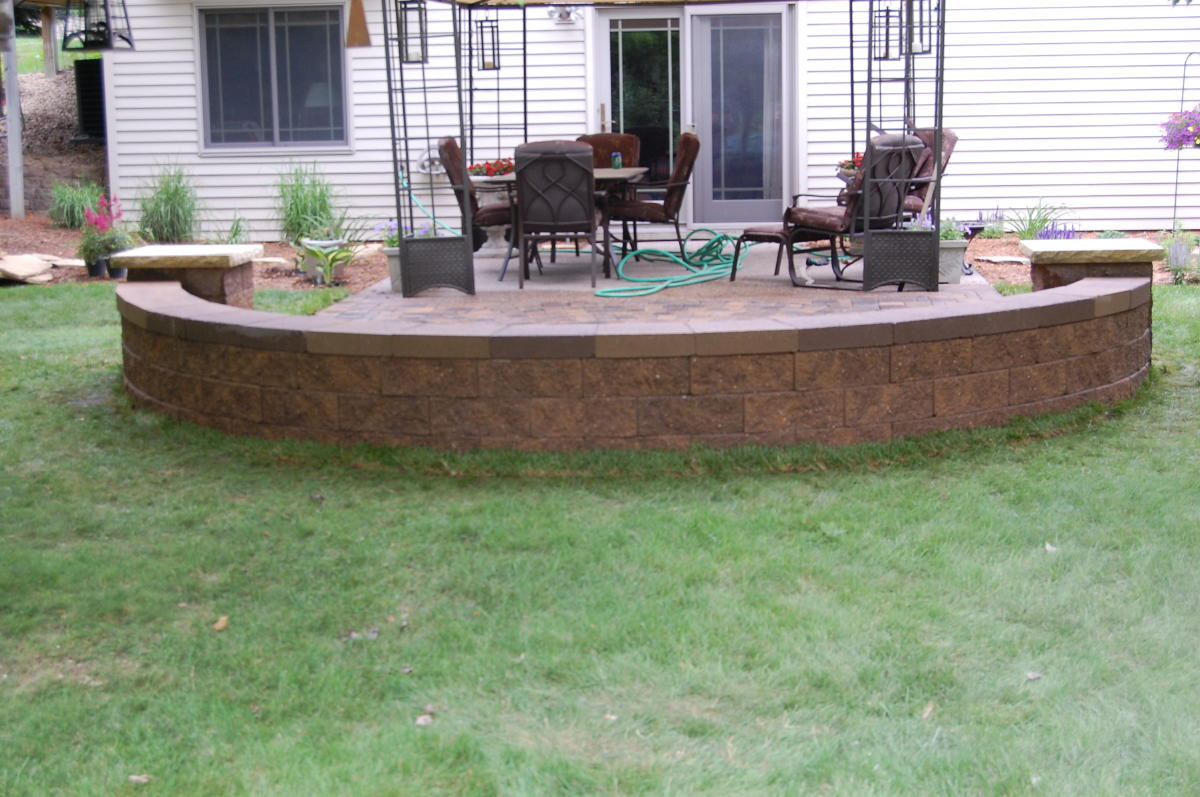 Free Standing Retaining Walls Sitting And Columns